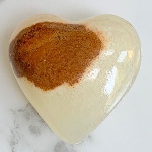 Mexican Handcrafted Marble Heart Shape